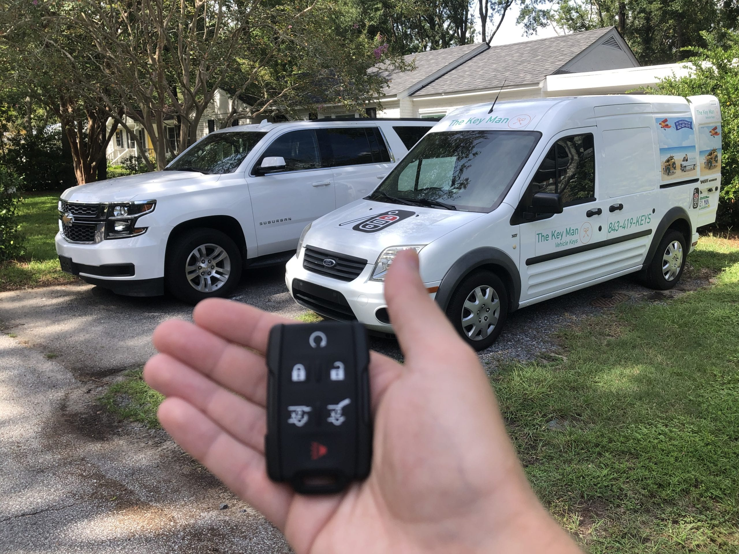 Lost Car Key Replacement Charleston SC